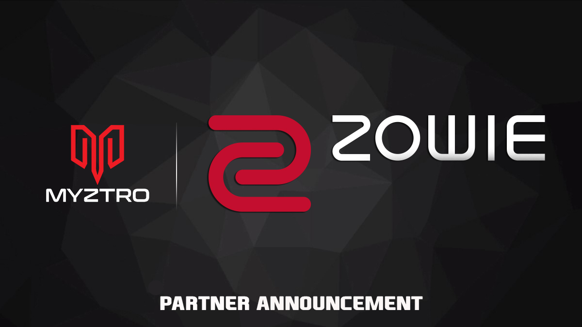 Myztro Gaming LLC is proud to announce its official partnership with ZOWIE