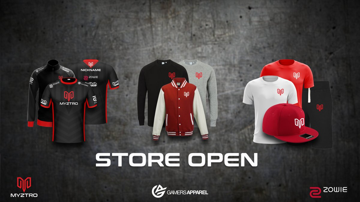 Store now open for Myztro Apparel!