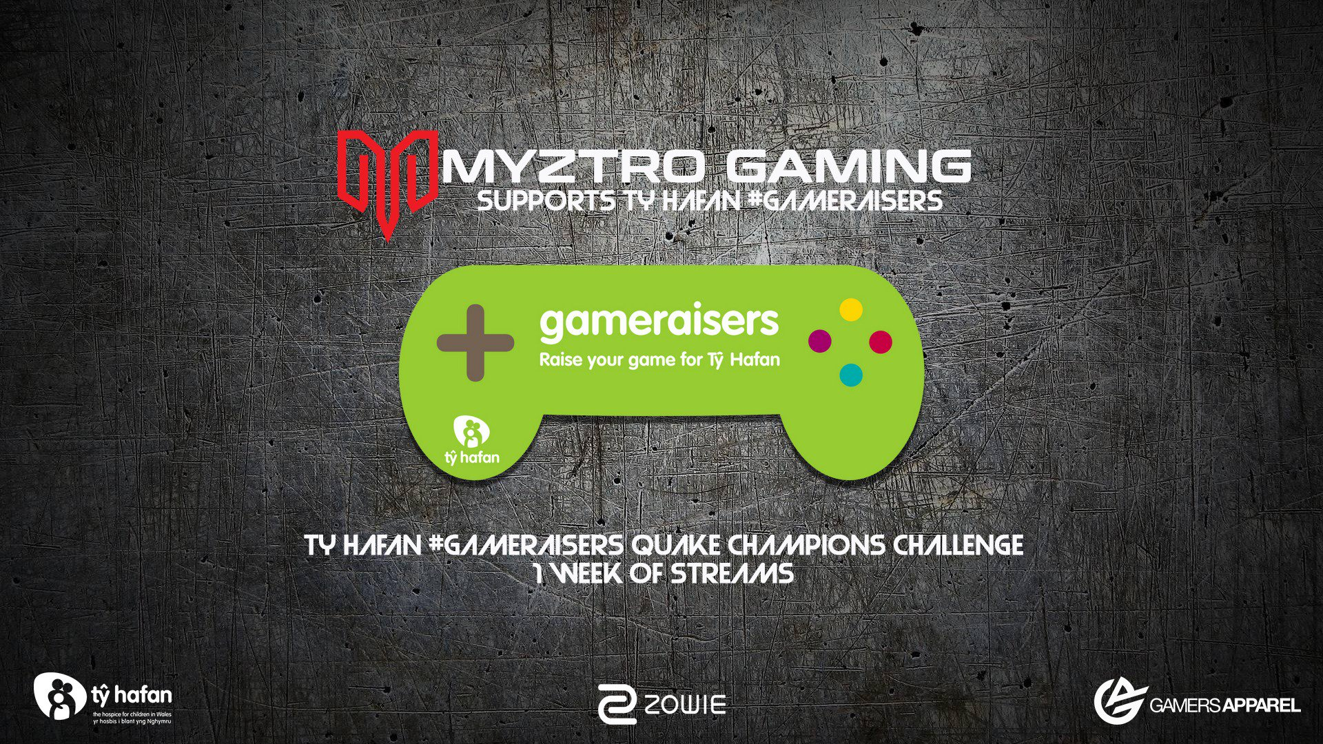 Tŷ Hafan Myztro #GameRaisers Challenge