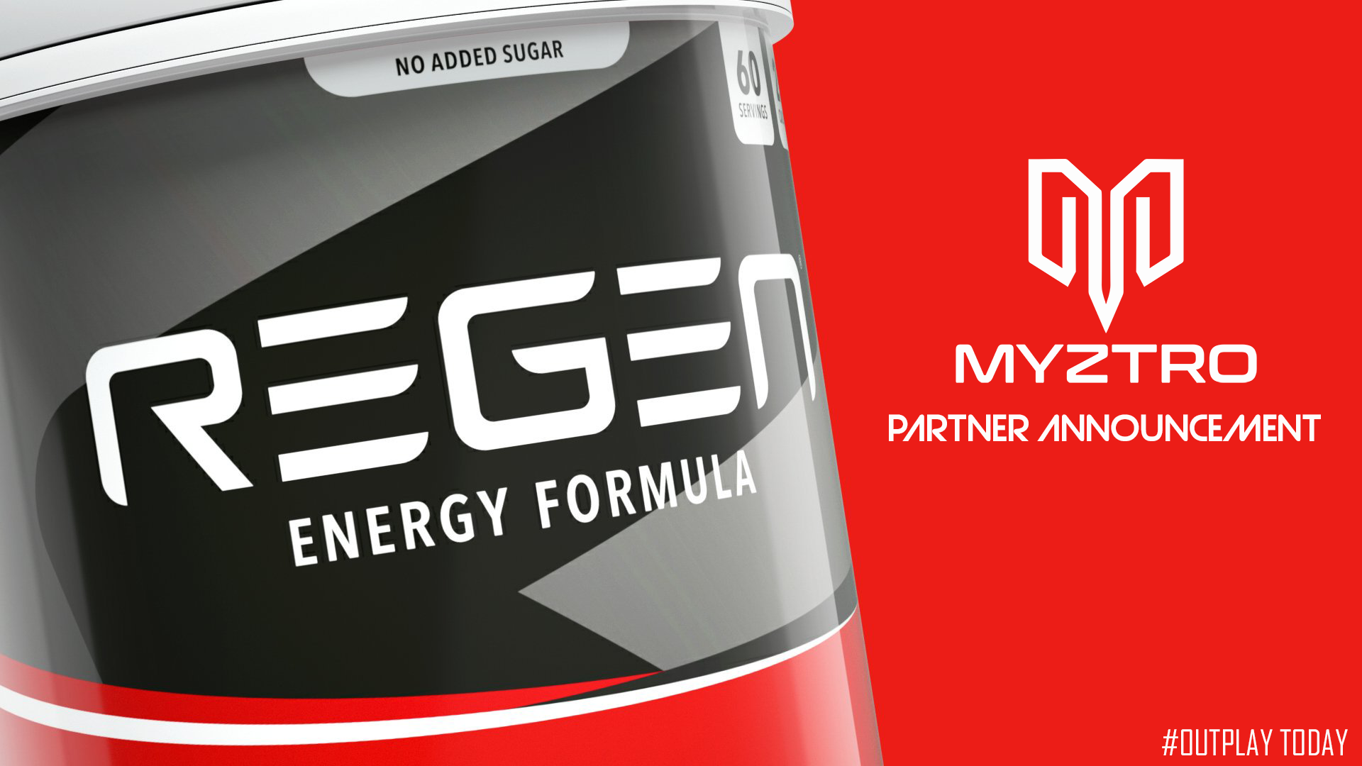 Myztro Gaming LLC is proud to announce a partnership with Regen Energy Drink