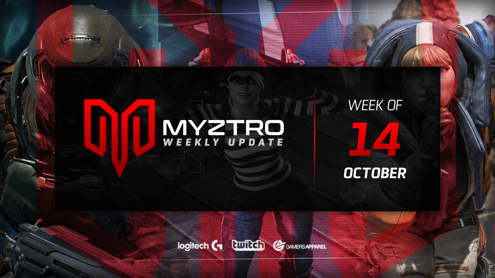 Myztro Weekly Update 2: 10/14/2019