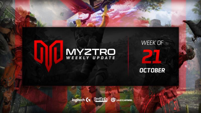 Myztro Weekly Update 3: 10/21/19
