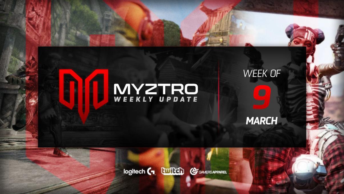 Myztro Weekly Update 14: 3/9/20