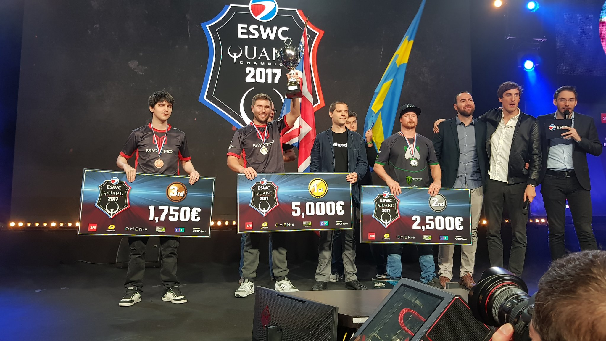 GaRpY becomes UK's first eSport competitor to win a Major at ESWC PGW 2017