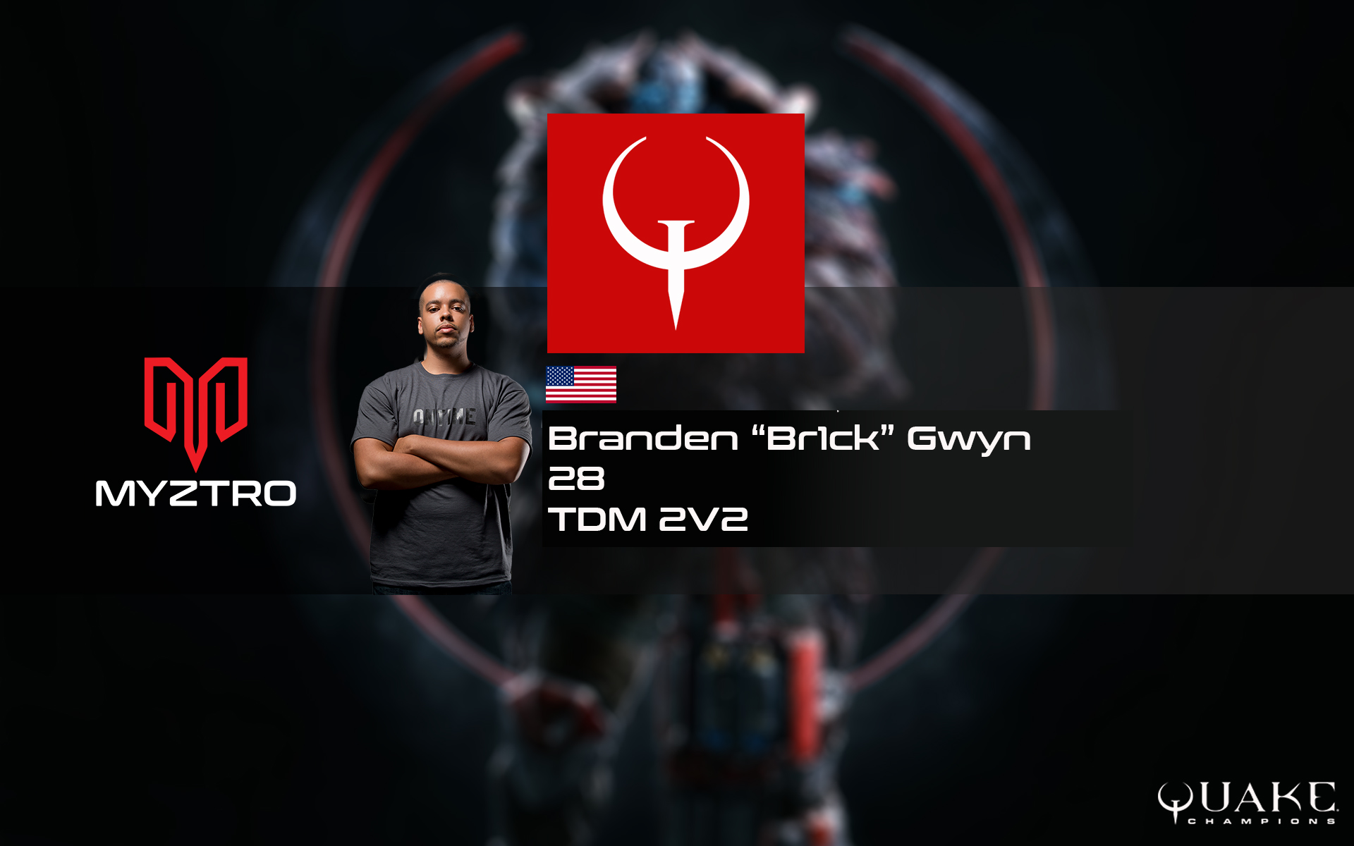 "Branden ""Br1ck"" Gwyn has joined Myztro Gaming"