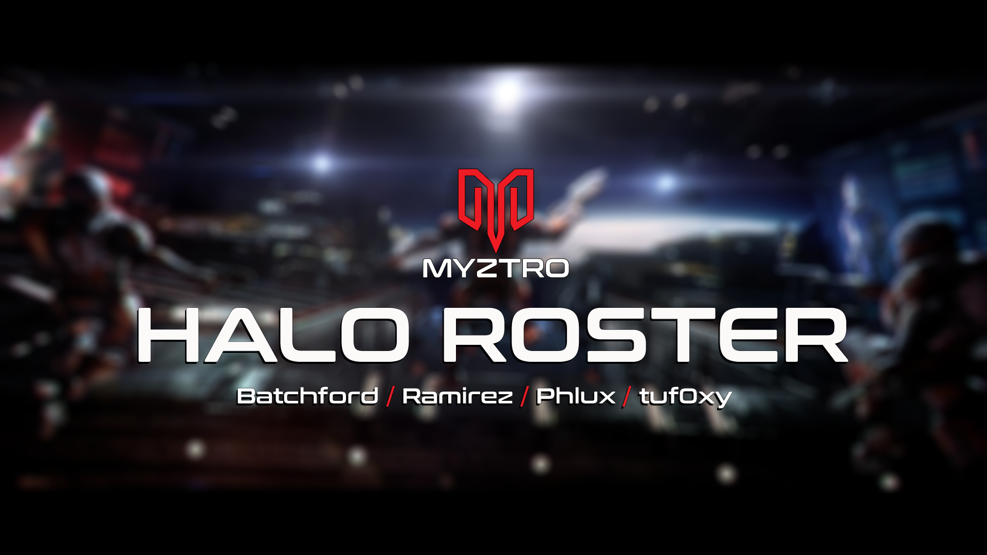 Myztro Gaming is delighted to announce our entry into competitive Halo
